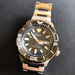 セイコー(SEIKO)のセイコー PROSPEX モンスター SBDY033 日本語/英語曜日(腕時計(アナログ))