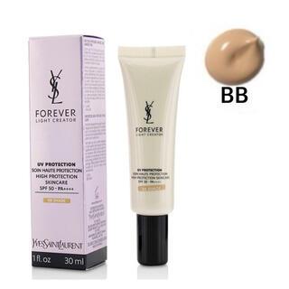 イヴサンローランボーテ(Yves Saint Laurent Beaute)のほぼ未使用 イヴサンローラン フォーエバーライトクリエイター UV50 BB(BBクリーム)