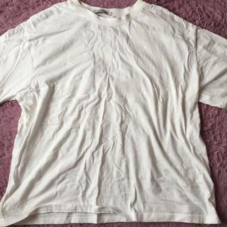 ミックスエックスミックス(mixxmix)の白無地Tシャツ(Tシャツ(半袖/袖なし))