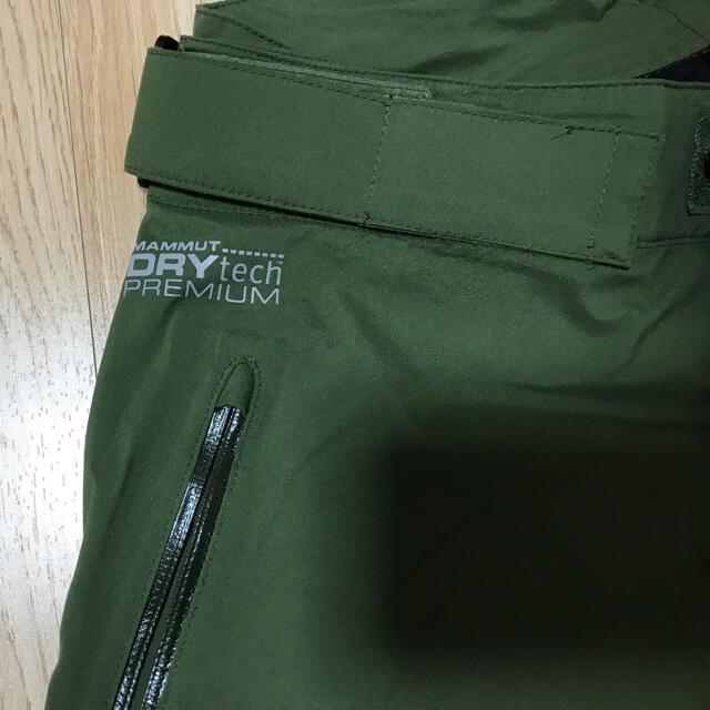 Mammut(マムート)のマムート ドライテックパンツ スポーツ/アウトドアのスキー(ウエア)の商品写真