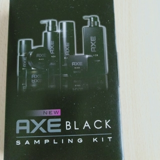 ユニリーバ(Unilever)のアックス ブラック シャンプー&ワックス サンプルセット(シャンプー)