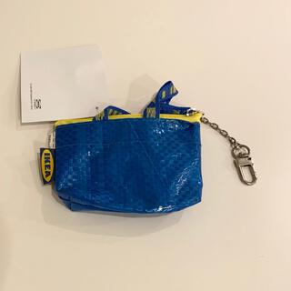 イケア(IKEA)の新品 IKEA クノーリグ ミニブルーバッグ キーホルダー(キーホルダー)