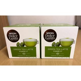 Nestle - ドルチェグスト カプセル(宇治抹茶ラテ)2箱セット