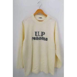ユーピーレノマ(U.P renoma)のU.P renoma(フルギ) OLD フロントロゴ刺繍スウェット メンズ(スウェット)