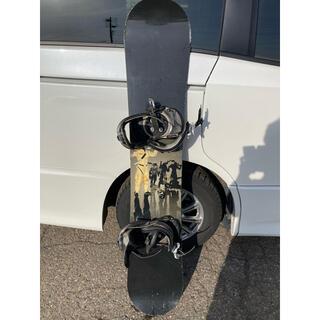 ロシニョール(ROSSIGNOL)のflux バイン&ロシニョール トラビスライス シグネイチャーモデル 151cm(ボード)