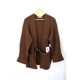 フィーニー(PHEENY)のPHEENY(フィーニー) 7G rib knit half cardigan(その他)