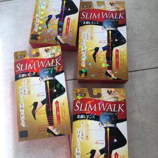 ピップスタジオ(PiP Studio)の4足[新品未使用]slim walk美脚レギンス10丈ブラック(レギンス/スパッツ)