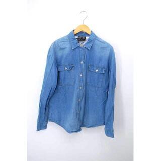 グラム(glamb)のglamb(グラム) ワークデニムロングスリーブシャツ レディース トップス(シャツ/ブラウス(半袖/袖なし))