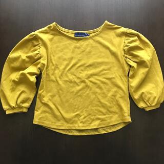 セブンデイズサンデイ(SEVENDAYS=SUNDAY)のセブンデイズサンデイ 110センチ マスタードカラー トップス(Tシャツ/カットソー)