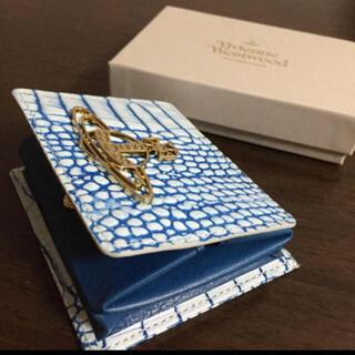 Vivienne Westwood - 新品✨ヴィヴィアンウエストウッド  ボックスコインケース 正規品 パイソン柄
