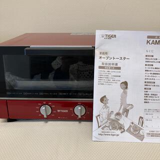 タイガー(TIGER)の椿様専用 タイガー オープントースター 取説付き(調理機器)