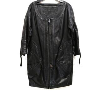 ルシェルブルー(LE CIEL BLEU)のルシェルブルー コート サイズ40 M - 黒(その他)