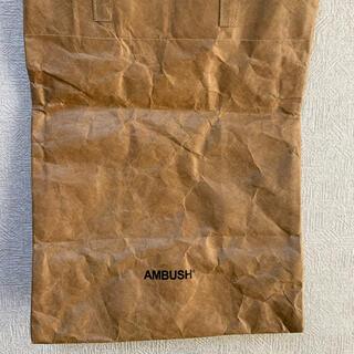 アンブッシュ(AMBUSH)のAMBUSH アンブッシュ 紙袋風 ペーパーバッグ トートバッグ(トートバッグ)