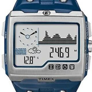 タイメックス(TIMEX)のTIMEX 腕時計 エクスペディション WS4 ネイビー T497(腕時計(デジタル))