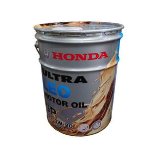 ホンダ(ホンダ)のホンダ純正 エンジンオイル ウルトラLEO SP 0W-20 20L (メンテナンス用品)