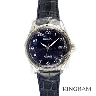 セイコー(SEIKO)のセイコー プレザージュ 琺瑯ダイヤル ウォッチサロン限定  メンズ腕時計(腕時計(アナログ))