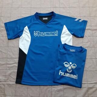ヒュンメル(hummel)のhummel スポーツTシャツ 2枚 160cm(Tシャツ/カットソー)