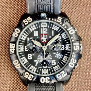 ルミノックス(Luminox)のLUMINOX ルミノックス 3080 ホワイト クロノグラフ(腕時計(アナログ))