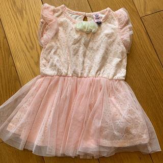 ニシマツヤ(西松屋)の専用 美品‼︎ベビー ドレス  ワンピース フォーマル 90 ピンク  結婚式 (ドレス/フォーマル)