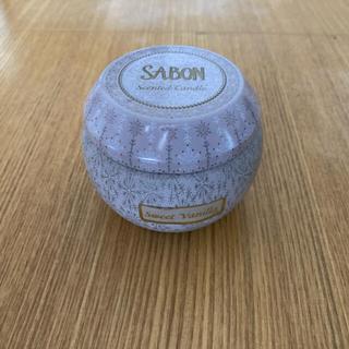 サボン(SABON)のサボン キャンドル イン ティンボックス スイートバニラ(キャンドル)