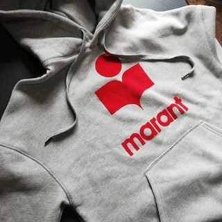 イザベルマラン(Isabel Marant)のISABEL MARANT イザベルマラン パーカー ロゴ(ニット/セーター)