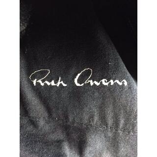 リックオウエンス(Rick Owens)のRICK OWENS(リックオウエンス) シングルレザージャケット メンズ(レザージャケット)