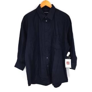 バレンシアガ(Balenciaga)のBALENCIAGA(バレンシアガ) ポケットロゴオーバーサイズドシャツ (その他)