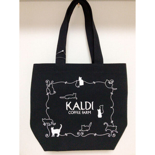 【タグ付新品】KALDI 猫の日2021 トートバッグ・タンブラー(トートバッグ)