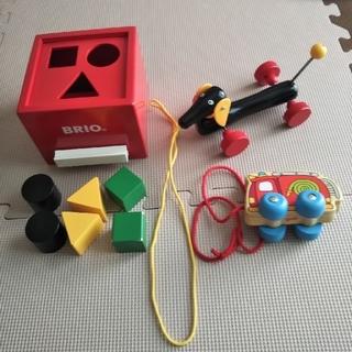 ブリオ(BRIO)のBRIO、goki おもちゃ3点まとめ売り 1歳頃~(知育玩具)