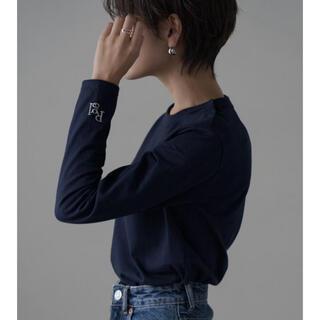 ドゥロワー(Drawer)のregleam ブランドロゴ入りロンT 金子麻貴さん(Tシャツ/カットソー(七分/長袖))