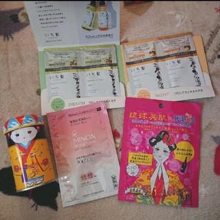ミノン(MINON)のMINON 琉球美肌 パック いち髪 琉球茶缶 セット販売(パック/フェイスマスク)