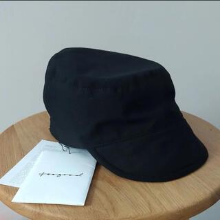 ポールハーデン(Paul Harnden)のtoogood THE CARPENTER CAP 「黒」(キャップ)