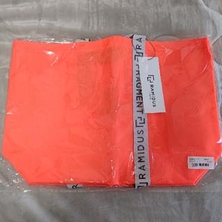 フラグメント(FRAGMENT)の【新品未使用】RAMIDAS×FRAGMENT トートバッグオレンジ(トートバッグ)