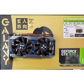 ギャラクシー(Galaxy)の玄人志向  NVIDIA GEFORCE  GF-GTX970-E4GB(PCパーツ)