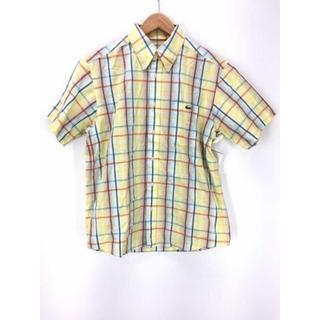ラコステ(LACOSTE)のLACOSTE (ラコステ) チェック柄ボタンダウンシャツ メンズ トップス(その他)
