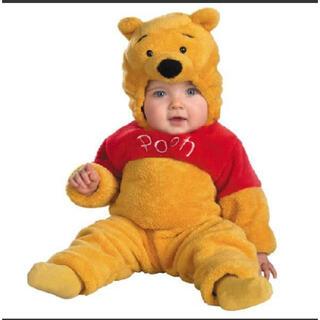 クマノプーサン(くまのプーさん)のぷーさん 着ぐるみ 赤ちゃん(カバーオール)