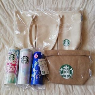 スターバックスコーヒー(Starbucks Coffee)のSTARBUCKS スタバ福袋2021 SAKURA&ディープブルーセット(タンブラー)