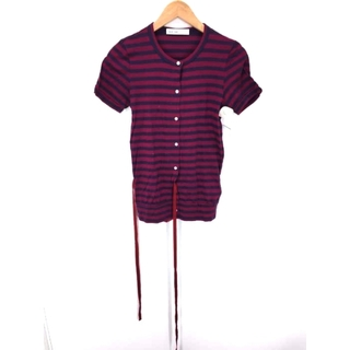 サカイラック(sacai luck)のsacai luck(サカイラック) ドッキングカーディガン レディース(Tシャツ(半袖/袖なし))
