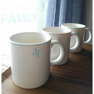 アフタヌーンティー(AfternoonTea)の「Afternoon Tea」マグカップ3個セット(グラス/カップ)