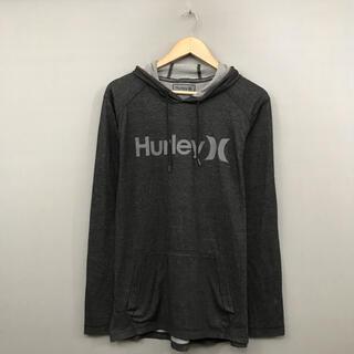 ハーレー(Hurley)のハーレー Hurley サファー 長袖 Tシャツ フード ロゴ プリント(Tシャツ/カットソー(七分/長袖))