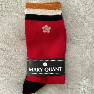マリークワント(MARY QUANT)の【新品】マリークワント靴下(ソックス)