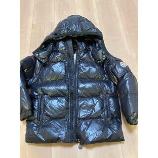 モンクレール(MONCLER)の最終値下 美品 モンクレール ダウン 6A ブラック (ジャケット/上着)