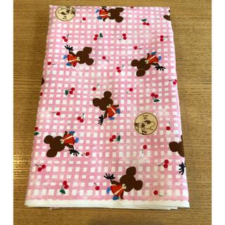 クマノガッコウ(くまのがっこう)の くまのがっこう チェック柄 オックス生地 巾108×100cm(生地/糸)