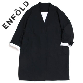 エンフォルド(ENFOLD)のENFOLD ノーカラースプリングコート size36 エンフォルド(スプリングコート)