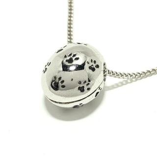 モスキーノ(MOSCHINO)のモスキーノ ネックレス - 金属素材 肉球(ネックレス)