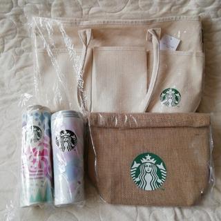 スターバックスコーヒー(Starbucks Coffee)のSTARBUCKS スタバ福袋2021 SAKURAタンブラーセット(タンブラー)