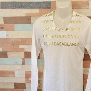フランシストモークス(FranCisT_MOR.K.S.)の【FranCisT_MOR.K.S.】 美品 フランシストモークス 長袖Tシャツ(Tシャツ/カットソー(七分/長袖))