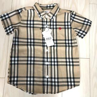 ポロベビー チェックシャツ 100(Tシャツ/カットソー)