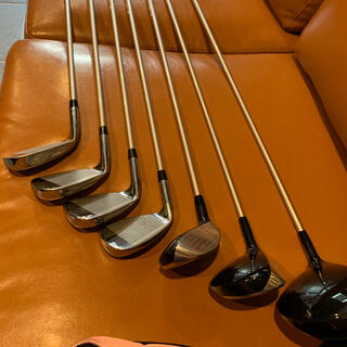 ウィルソン(wilson)のウィルソン ティアラ レディース ゴルフクラブセット 8本(クラブ)