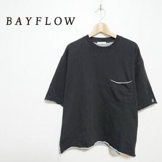 ベイフロー(BAYFLOW)のBAYFLOW ベイフロー ポケット付き Tシャツ(Tシャツ/カットソー(半袖/袖なし))